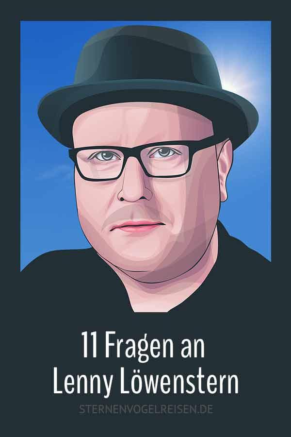 11 Fragen an Lenny Löwenstern