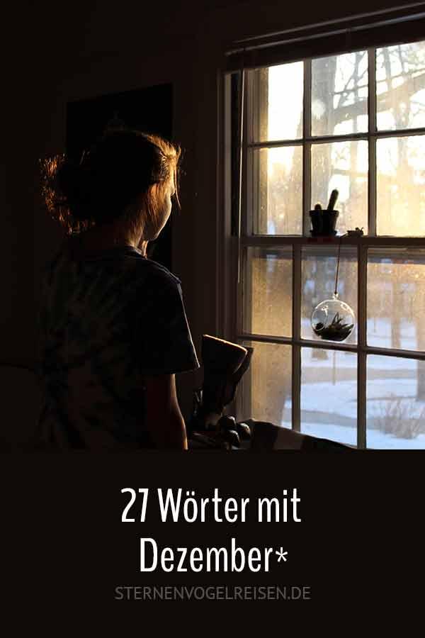 27 Wörter mit Dezember