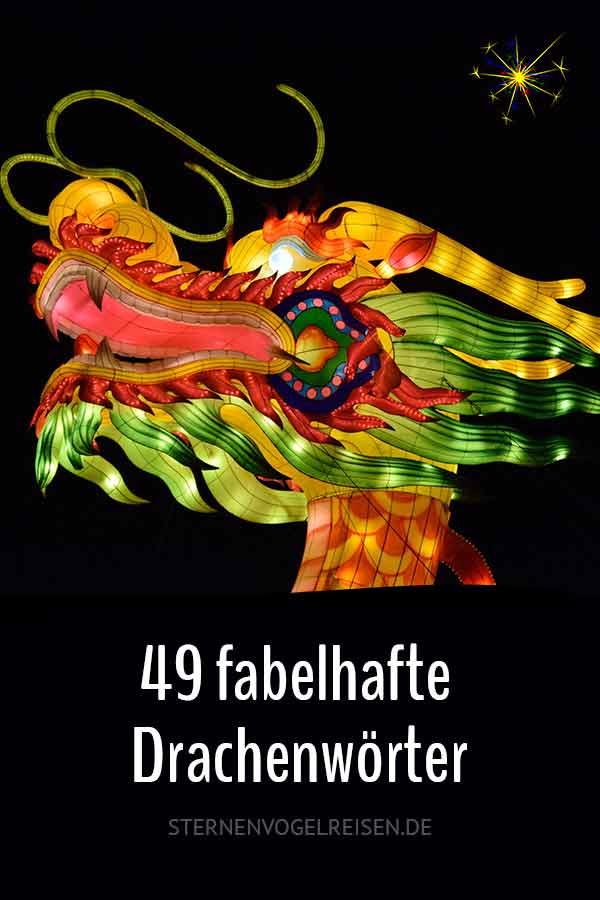 49 fabelhafte Drachenwörter