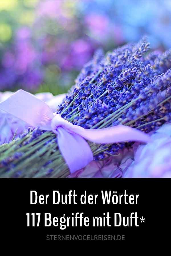 Der Duft der Wörter – 117 intensive Begriffe mit Duft*