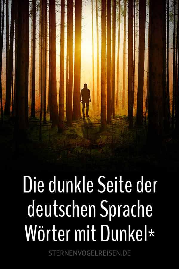 Die dunkle Seite der deutschen Sprache – 79 Wörter für düstere Momente