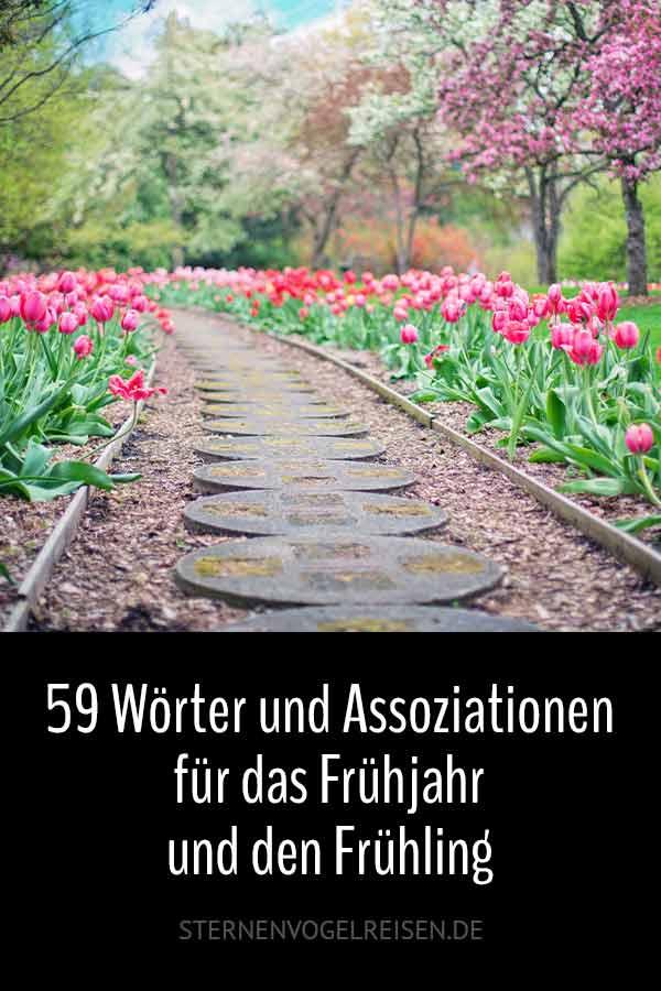 53 Wörter und Assoziationen für das Frühjahr und den Frühling