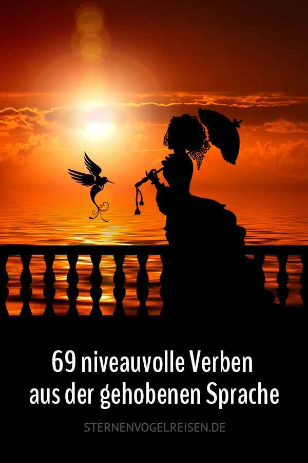 69 niveauvolle Verben aus der gehobenen Sprache
