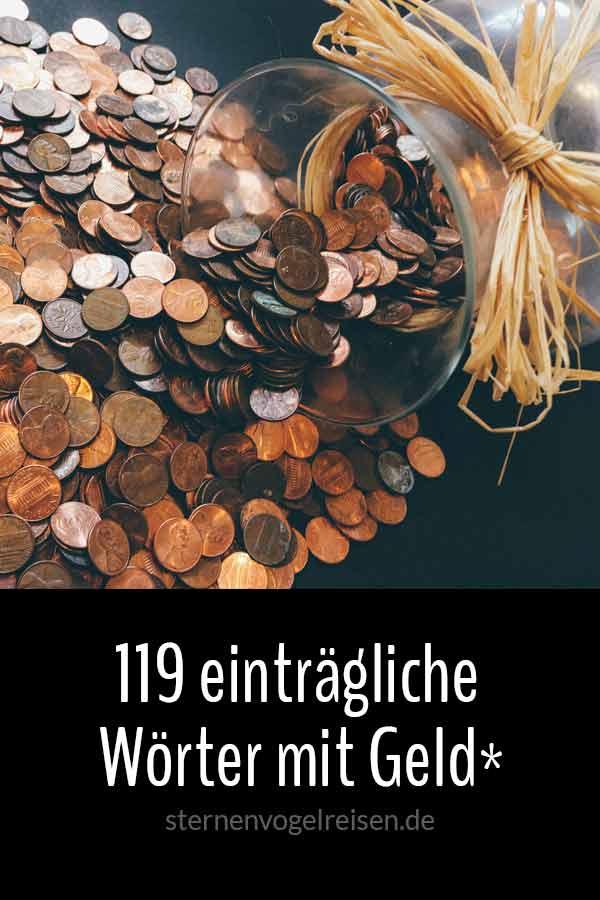 119 einträgliche Wörter mit Geld*