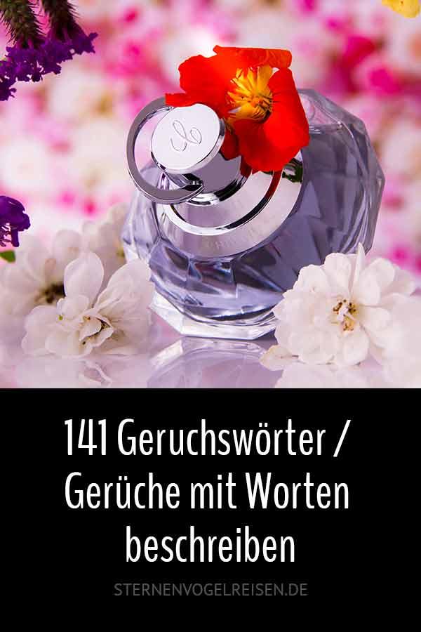 141 Geruchswörter / Gerüche mit Worten beschreiben