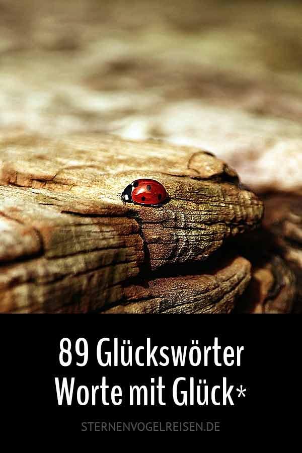 89 Glückswörter, die nicht jeder kennt - Worte mit Glück