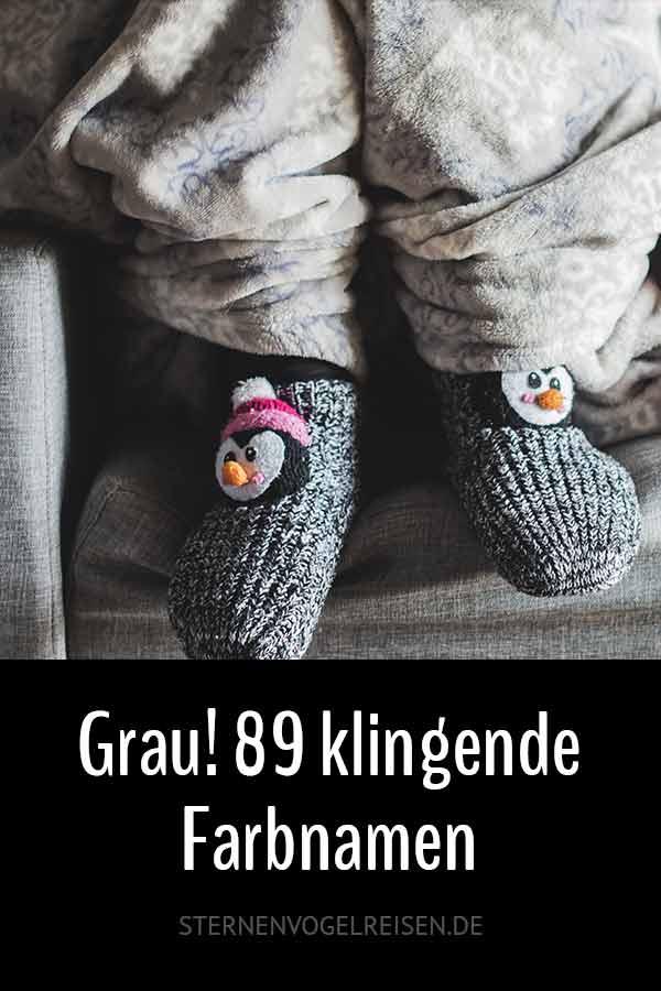 Grau! 89 klingende Farbnamen und Bezeichnungen für Texte