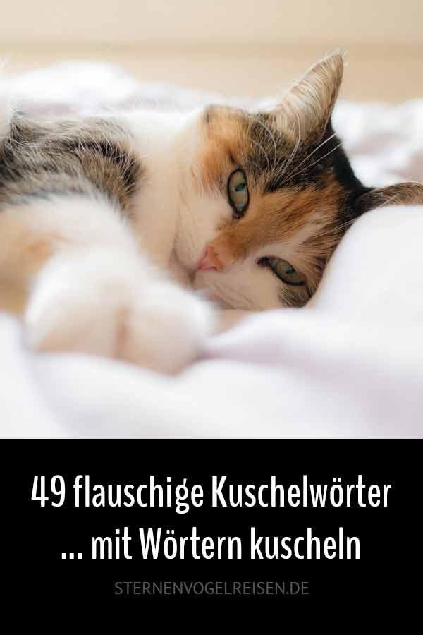 49 flauschige Kuschelwörter … mit Wörtern kuscheln