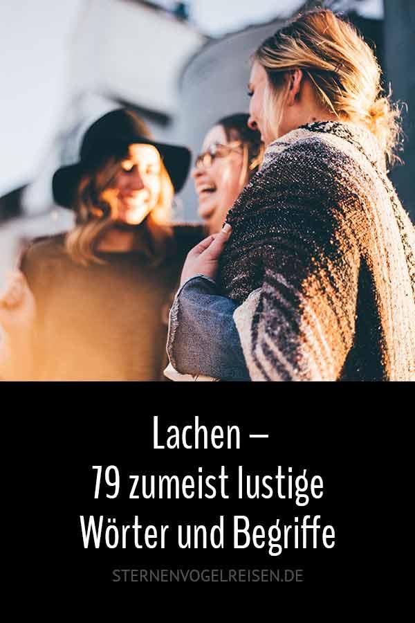 Lachen – 79 zumeist lustige Wörter und Begriffe