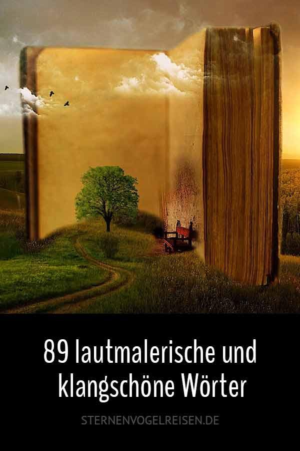 79 lautmalerische und klangschöne Wörter der deutschen Sprache