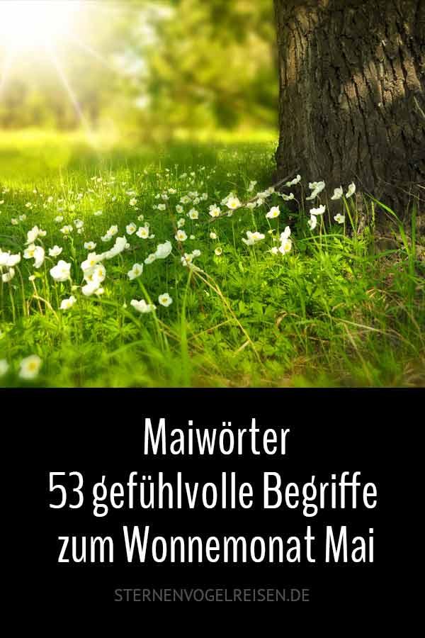 Maiwörter – 53 gefühlvolle Begriffe zum Wonnemonat Mai