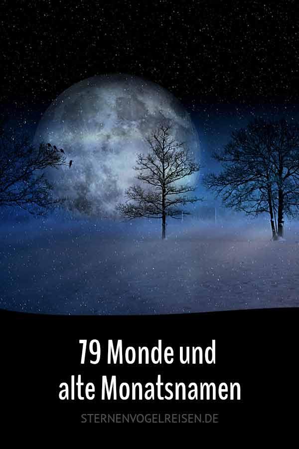 79 Monde und alte Monatsnamen