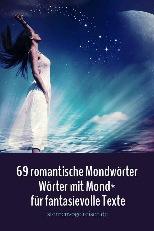 69 romantische Mondwörter – Wörter mit Mond* für fantasievolle Texte