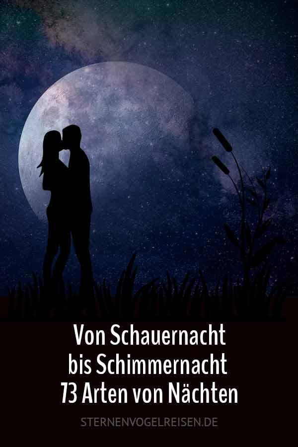 Von Schauernacht bis Schimmernacht / 73 Arten von Nächten