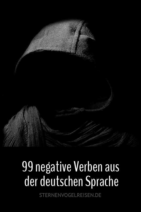 99 negative Verben aus der deutschen Sprache