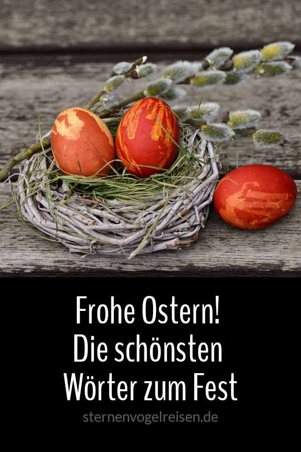 Frohe Ostern! Die schönsten Osterwörter zum Fest