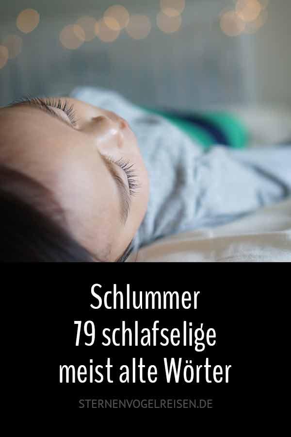 Schlummer ... 79 gemütliche zumeist alte Wörter