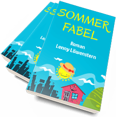 Sommerfabel Cover im iPad