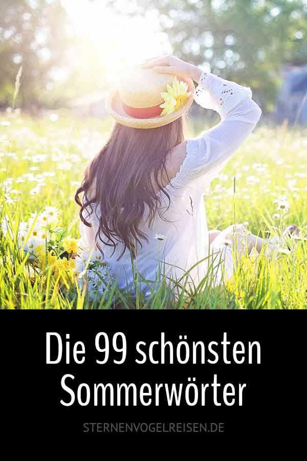 Sommer – Die 111 schönsten Sommerwörter der deutschen Sprache