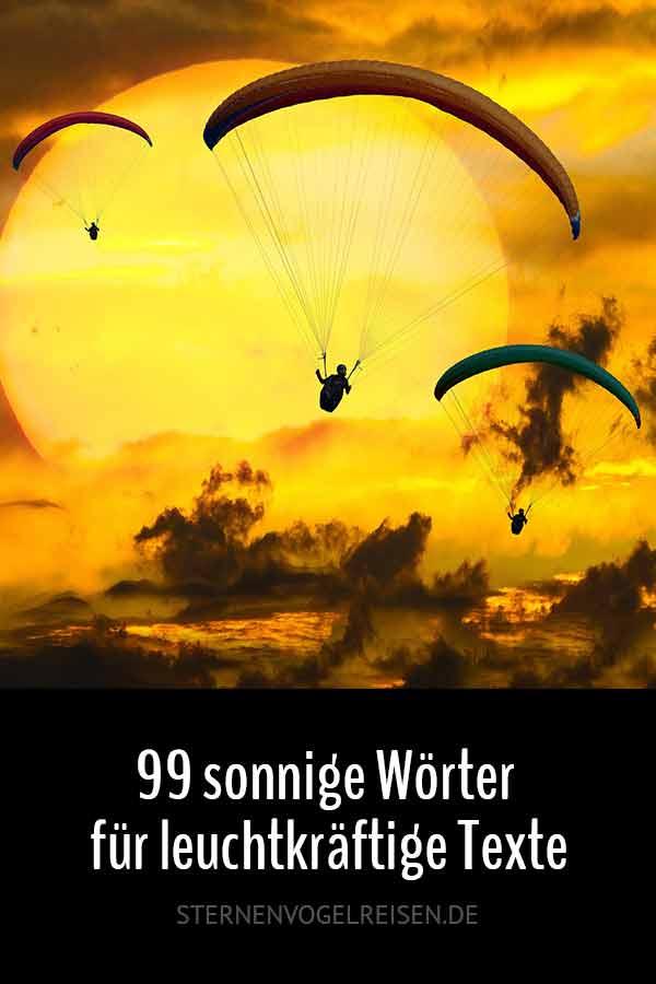 99 Sonnenwörter für leuchtkräftige Texte
