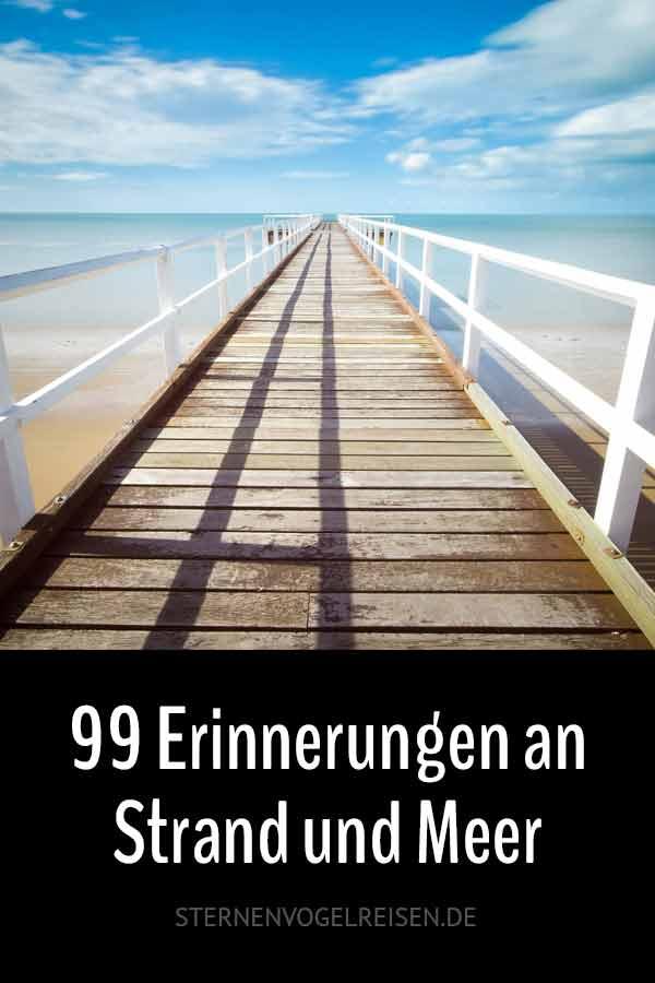 79 Erinnerungen an Strand und Meer – Eine sommerfrische Wortliste