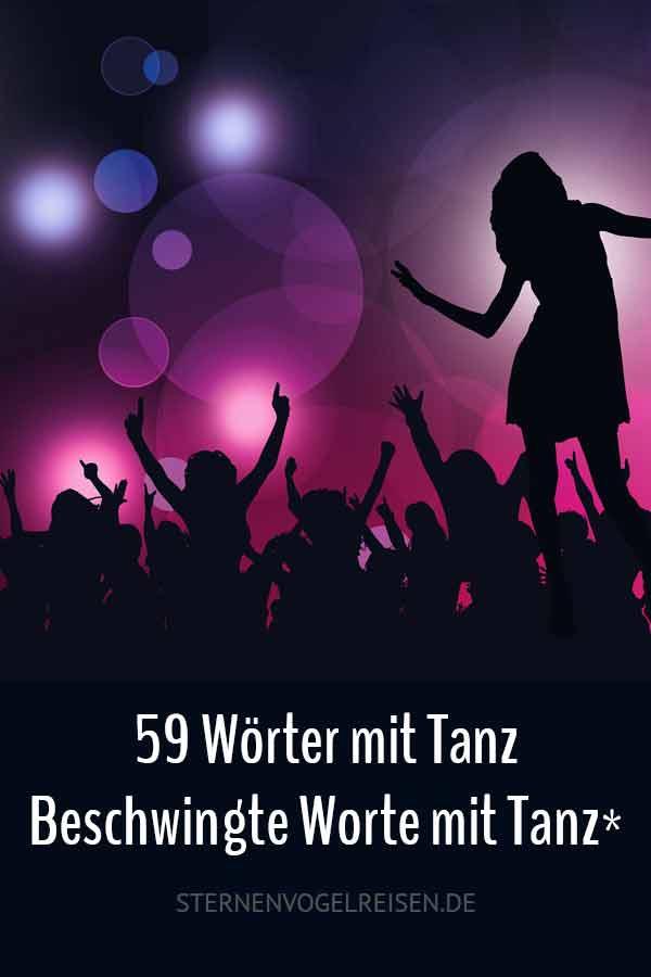 59 Wörter mit Tanz - beschwingte Worte mit Tanz*
