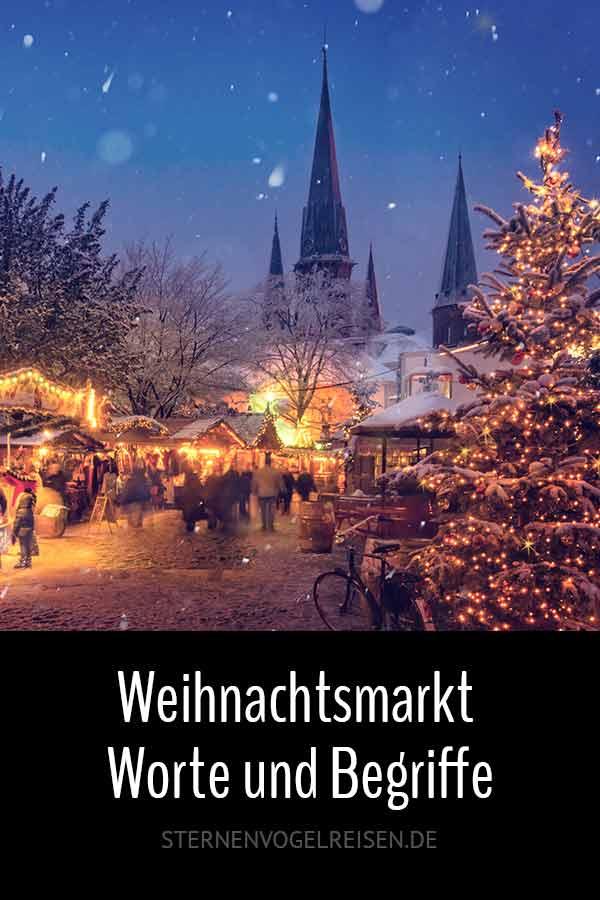 Weihnachtsmarkt – 99 Wörter und Begriffe