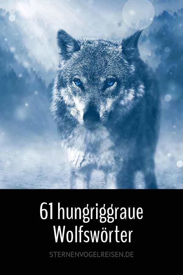 61 hungrige Wolfswörter