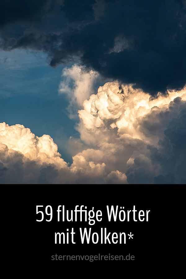 59 flauschige Wörter mit Wolken*