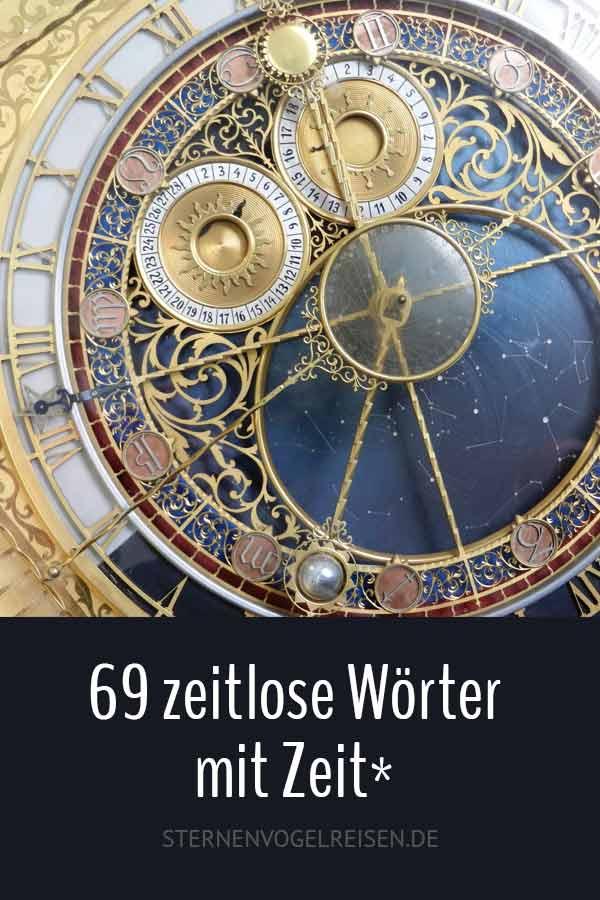 69 zeitlose Wörter mit Zeit* – Die praktische Wortliste