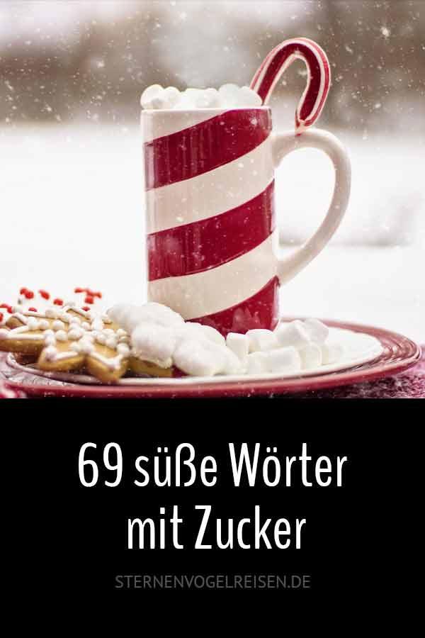 69 süße Wörter mit Zucker*